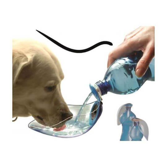 "BeviQui® – Για να πίνει νερό ο σκύλος σας ""εν κινήσει""-μπλε 2"