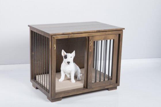 "Frida"" W&P Dog Kennel with sliding door 7"