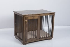 "Frida"" W&P Dog Kennel with sliding door 9"