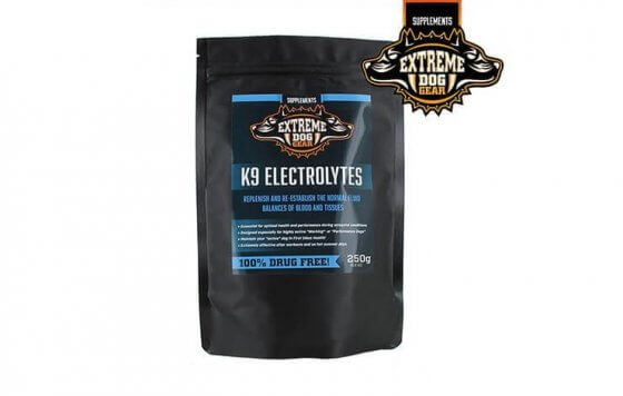 EXTREME DOG K9 ELECTROLYTES - 250gr 1