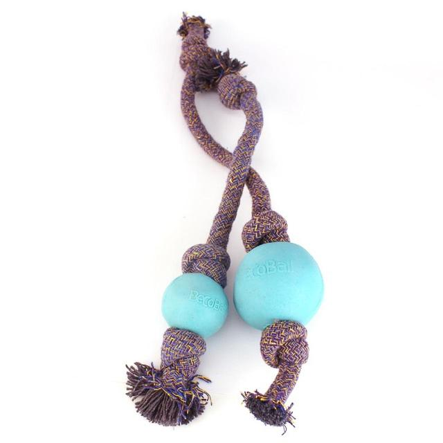 BECO BALL- ON-ROPE BLUE LARGE 1