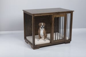 W&P Single Wooden Dog Kennel