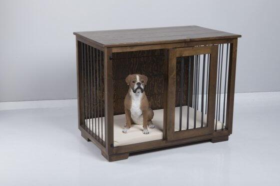 """Ayton"" W&P Single Wooden Dog Kennel 1"