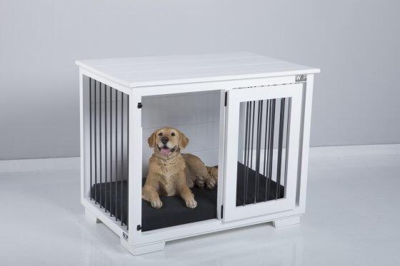 """Ayton"" W&P Single Wooden Dog Kennel 8"