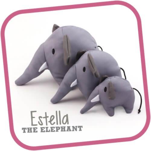 Estrella the Elephant Cuddly Soft Toy 5