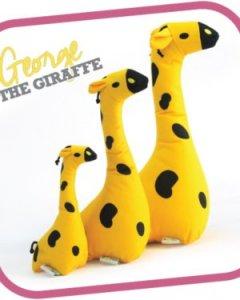 George the Giraffe Cuddly Soft Toy