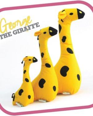 Beco George the Giraffe Cuddly Soft Toy 7