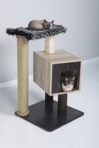 Kitty Fun 1 Box Cat Tree Condo