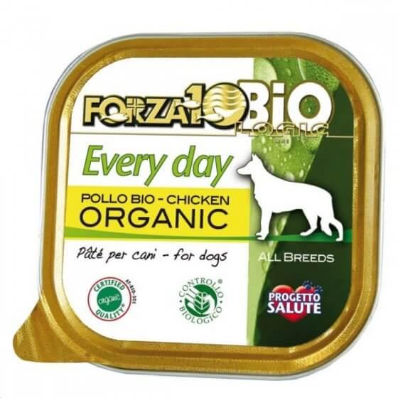 FORZA10 Every Day Bio Pâté με κοτόπουλο - 150gr 1