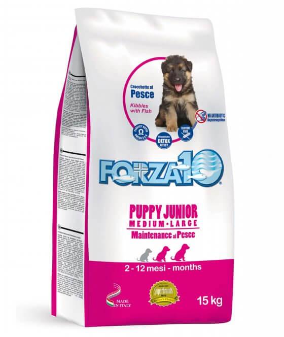 FORZA10 Puppy Junior με Ψάρι - 2kg 1