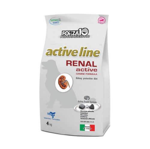 FORZA10 RENAL ACTIVE CANINE FORMULA – ΝΕΦΡΙΚΗ ΛΕΙΤΟΥΡΓΙΑ ΣΚΥΛΟΥ - 4kg - Adult - Small - Medium - Large 1