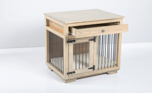 W&P Small Dog Kennel with Drawer