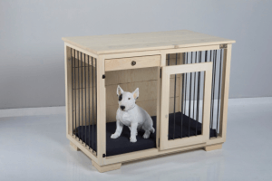 W&P Medium Large Dog Kennel with Drawer