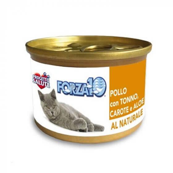 Forza10 All natural κονσέρβα γάτας -Τόνος καρότο - 75gr 1