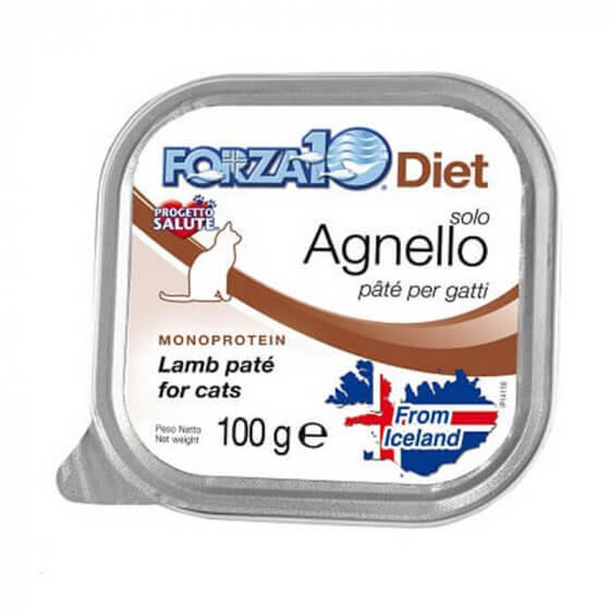 FORZA10 SOLO DIET ΠATE ΜΕ ΑΡΝΙ-100gr 1