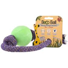BECO BALL- ON-ROPE BLUE LARGE 12