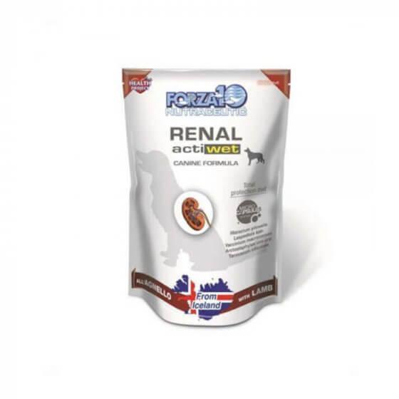 Forza10 Renal Actiwet με αρνί - 100gr- adult - mini -medium - large 1