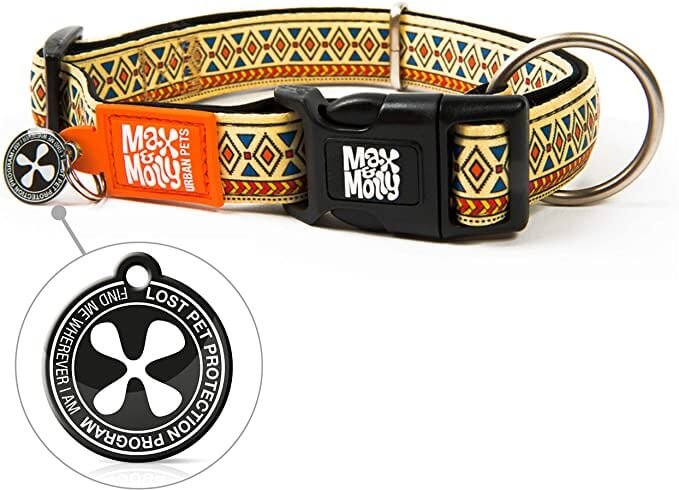 ΟΔΗΓΟΣ ΠΕΡΙΠΑΤΟΥ MULTI LEASH MAX & MOLLY ETHNIC MEDIUM 5