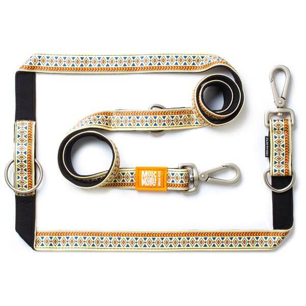 ΟΔΗΓΟΣ ΠΕΡΙΠΑΤΟΥ MULTI LEASH MAX & MOLLY ETHNIC MEDIUM 1