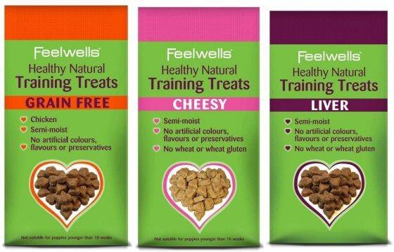 FEELWELL TRAINING TREATS CHEESY 115gr 2
