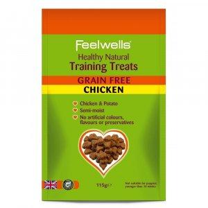 FEELWELL TRAINING TREATS GRAIN FREE CHICKEN 115gr 7