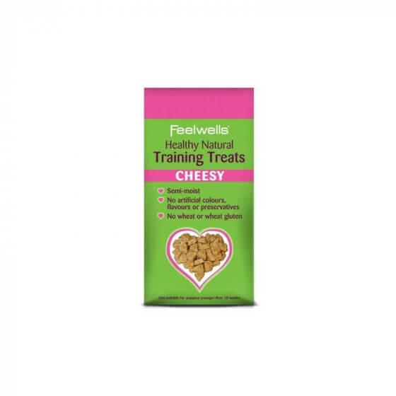 FEELWELL TRAINING TREATS CHEESY 115gr 1