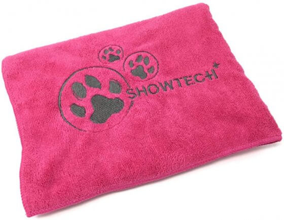 TOWEL SHOW TECH MICROFIBRE-PINK 1