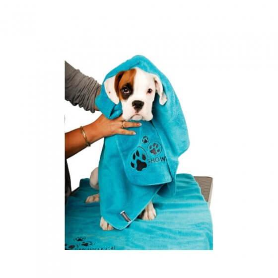 TOWEL SHOW TECH MICROFIBRE-BLUE 2