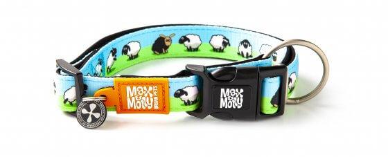 ΠΕΡΙΛΑΙΜΙΟ ΣΚΥΛΟΥ MAX & MOLLY BLACK SHEEP MEDIUM 1